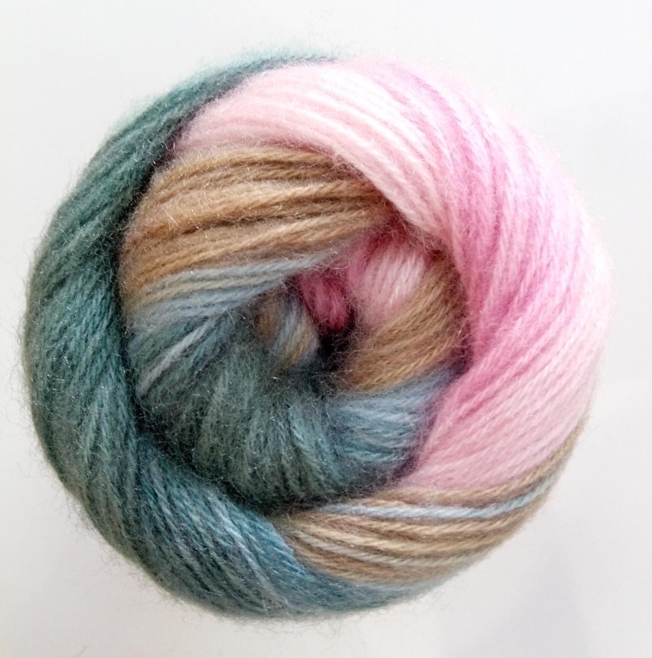 купить пряжа для вязания ангора голд батик Alize код 2970 доставка