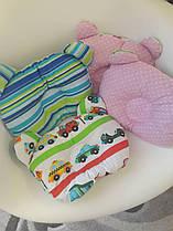"""Дитяча подушка для новонароджених """" Машинки """" 095001"""