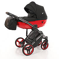 Дитяча коляска 2 в 1 Junama Diamond S-Line Red, фото 1