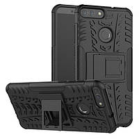 Чехол Huawei P Smart / Enjoy 7S / FIG-LX1 / FIG-LA1 / FIG-LX2 противоударный бампер черный