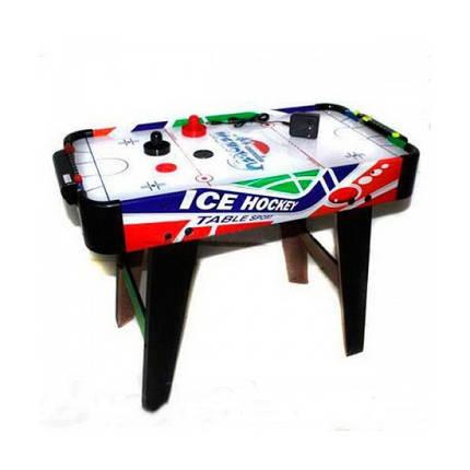 Настольная игра Аэрохоккей ZC 3003+2, размер 74-37-54 см, от сети 220V, фото 2