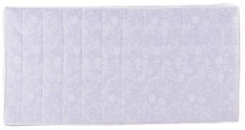 Детский матрас в кроватку с гречкой Qvatro GPK-10см толстый (кокос, поролон, гречка) белый