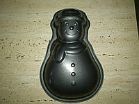 Форма для выпечки металлическая с антипригарным покрытием СНЕГОВИК, Германия