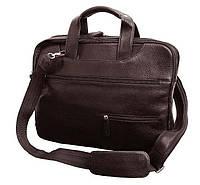 Удобная сумка для ноутбука Vip Collection Украина 241B flat, Коричневый