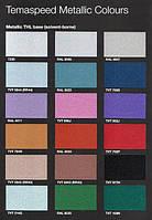 Полиуретановая краска Темадур 50 THL (металлик),  7.5+1.5л