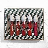 Набор матовых помад Kylie Cosmetics Spice (реплика)., фото 1