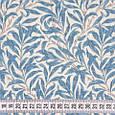 Декоративная ткань для штор, стебельки  голубой, фото 3