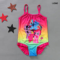 Купальник My Little Pony для девочки. 104-110;  116-122 см, фото 1