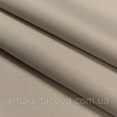 Декоративна тканина для штор однотонний сірий
