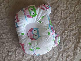 """Дитяча подушка для новонароджених """" Сови """" 095002"""