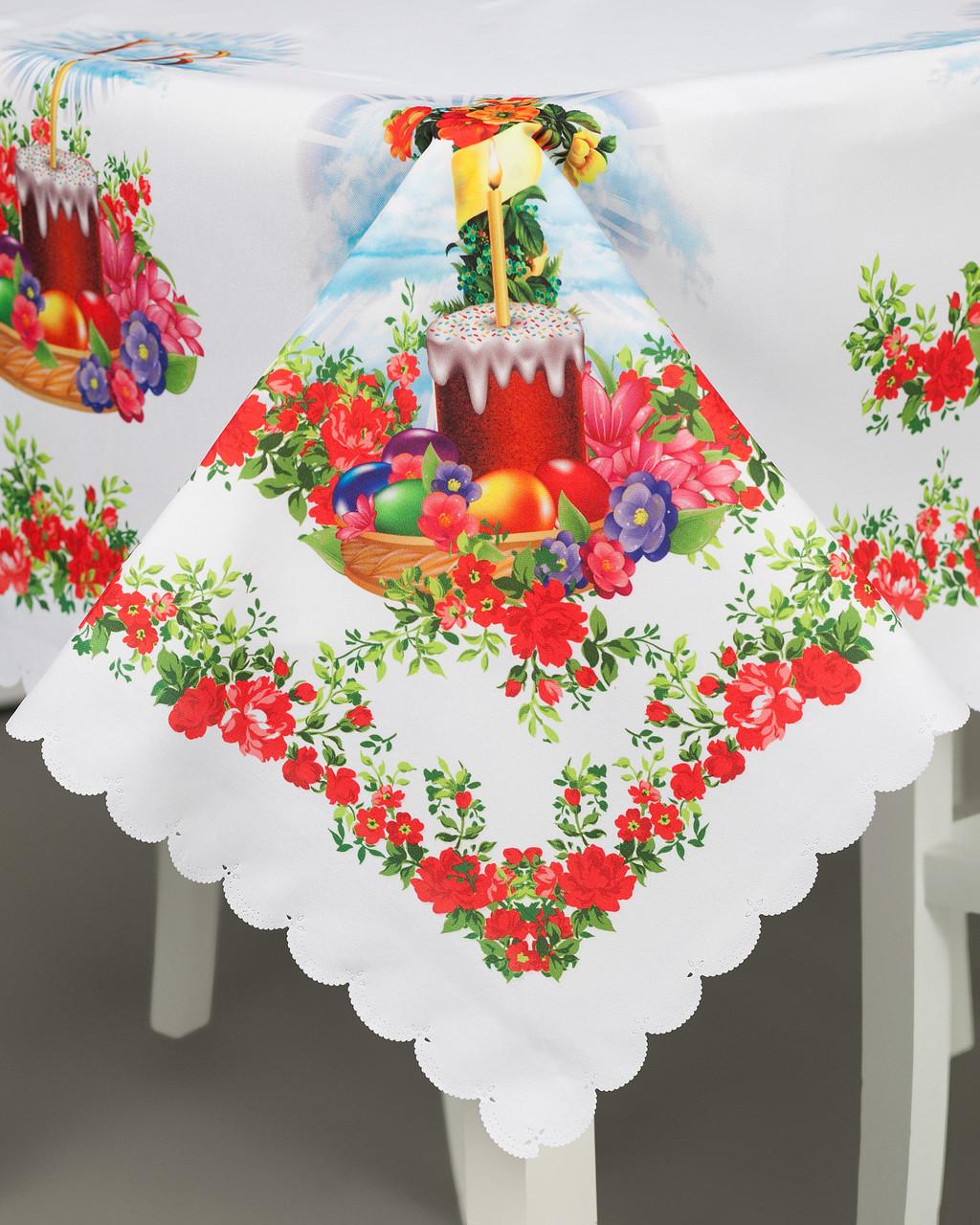 Пасхальная скатертина на стіл
