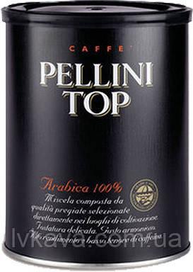 Кофе молотый Pellini TOP,  250 гр, ж\б