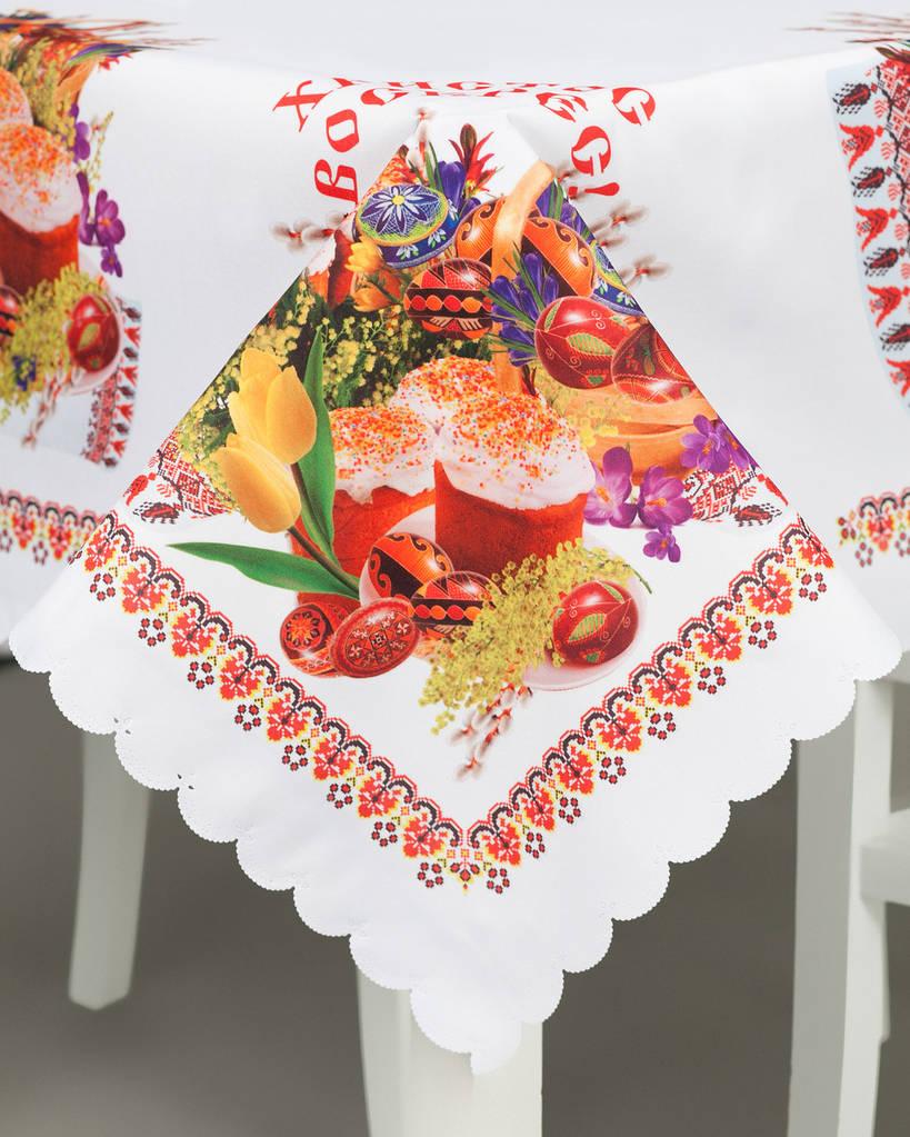 Скатерть текстильная пасхальная