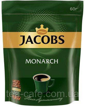Кава Jacobs Monarch розчинна сублімована, 60 гр.