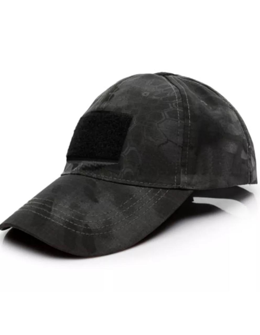 Кепка тактическая милитари военная, туристическая «Military» (чёрный)