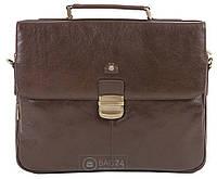 Современный мужской кожаный портфель WITTCHEN 21-3-119-4, Коричневый 00f3579538d