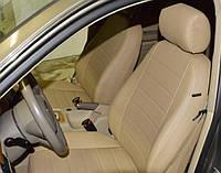 Авточехлы Toyota Camry (Тойота Камри) экокожа + перфорация