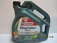 Масло моторное 10W-40 B4 Magnatec Diesel, 4 л CASTROL