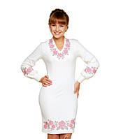 57ef8807c94 Сукня жіноча Сутінкове намисто (джерсі світло-молочний)