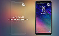 Защитная пленка Nillkin для Samsung Galaxy A6 2018 матовая