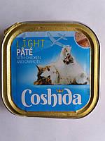 Корм для кошекCoshida паштет с курицей и морковью 100гр.