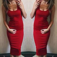 Платье-майка женская однотонная.Stile размер 42-46
