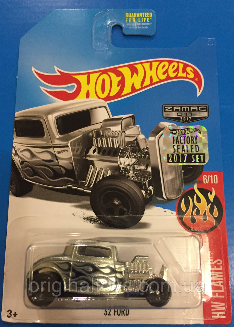 Базовая машинка Hot Wheels Zamac Ford '32