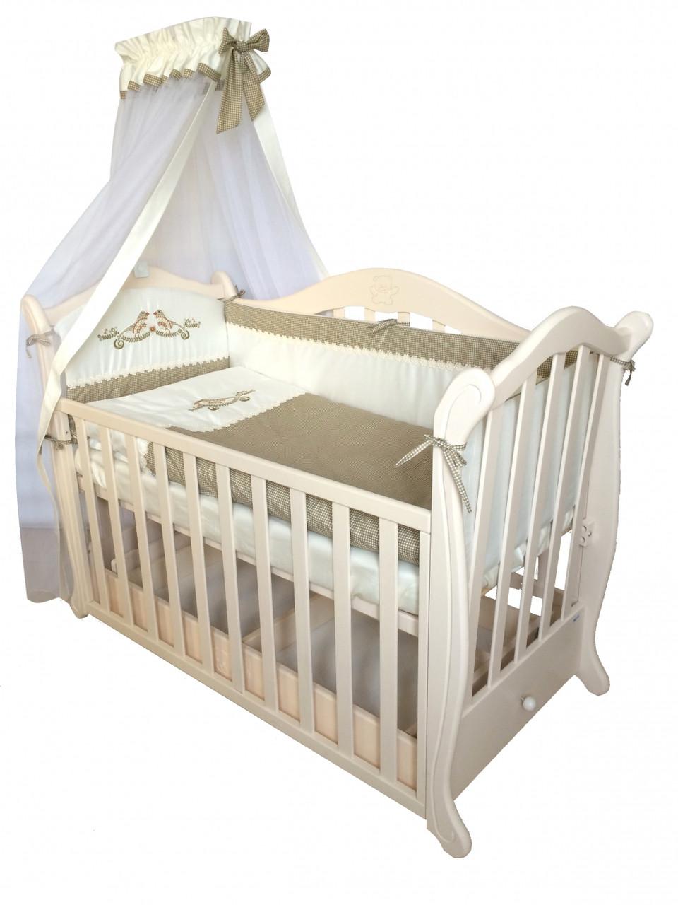 Детская постель Twins Etno E-001 7 элементов + БЕСПЛАТНАЯ ДОСТАВКА -  Интернет магазин брендовых a72c78c3092f2