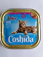 Корм для котятCoshida паштет с курицей и рисом 100гр.