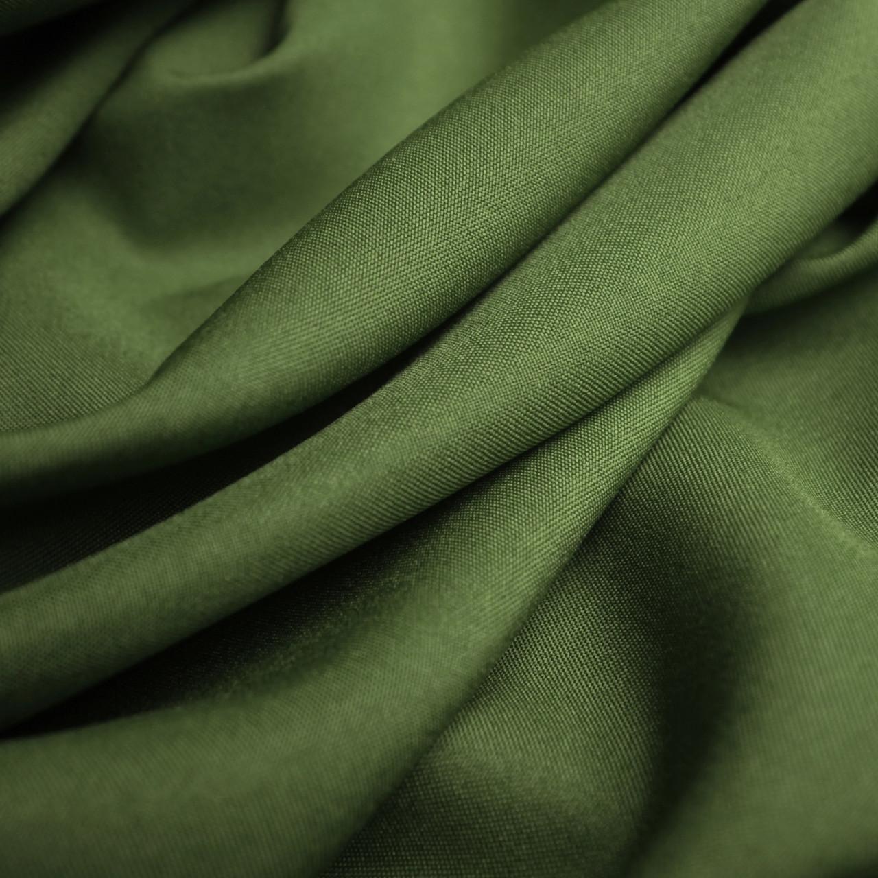 Костюмная ткань габардин хаки