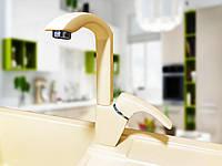 Смеситель для кухонной гранитной мойки CLIO DX Бежевый «ВСЕ ЦВЕТА»