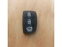 Резиновые сменные кнопки на корпус выкидного ключа Hyundai новый вид.