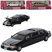 Машина метал. Lincoln Stretch Limousine KT7001W