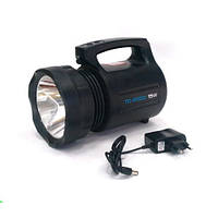Мощный аккумуляторный фонарь фара TD-6000 15W, фото 1