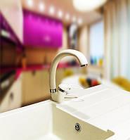 Смеситель для кухонной гранитной мойки  Premierа-40 DX Бежевый «ВСЕ ЦВЕТА»