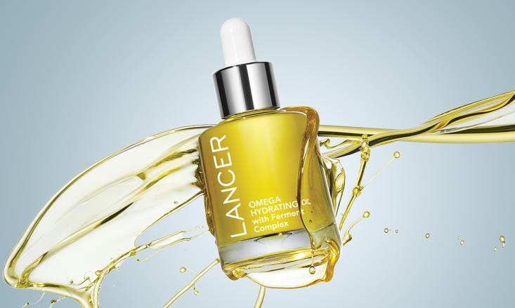 Люкс-масло для кожи лица LANCER Omega Hydrating Oil