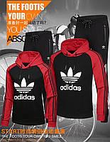Спортивный мужской костюм Adidas ADI TRE FOIL TEЕ  реплика