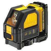 """Лазер самовыравнив. аккумулятор. Li-Ion 10,8V (+аккумулятор и зарядное) (2 луча 360° до 30м.) """"DEWALT"""""""