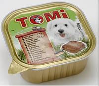 Консервы корм для собак TOMi ДИЧЬ (game) паштет 300г