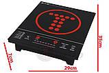 Индукционная плита TURBO 2350W , фото 2