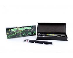Лазерная указка зеленого цвета Green Laser 5in1 (+5 насадок)