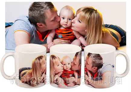 Друк чашки з фото в Харкові