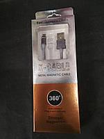 Магнитный кабель 360 (круглое сечение) Iphone 5/6/7