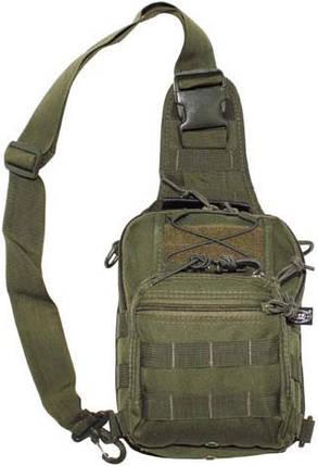 Сумка-рюкзак плечевая MFH Molle 30700B, фото 2