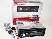 Автомагнитола пионер Pioneer 1181 Съемная панель Usb+Sd+Fm+Aux, фото 7