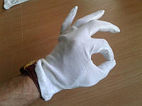 Перчатки официанта (не Китай)