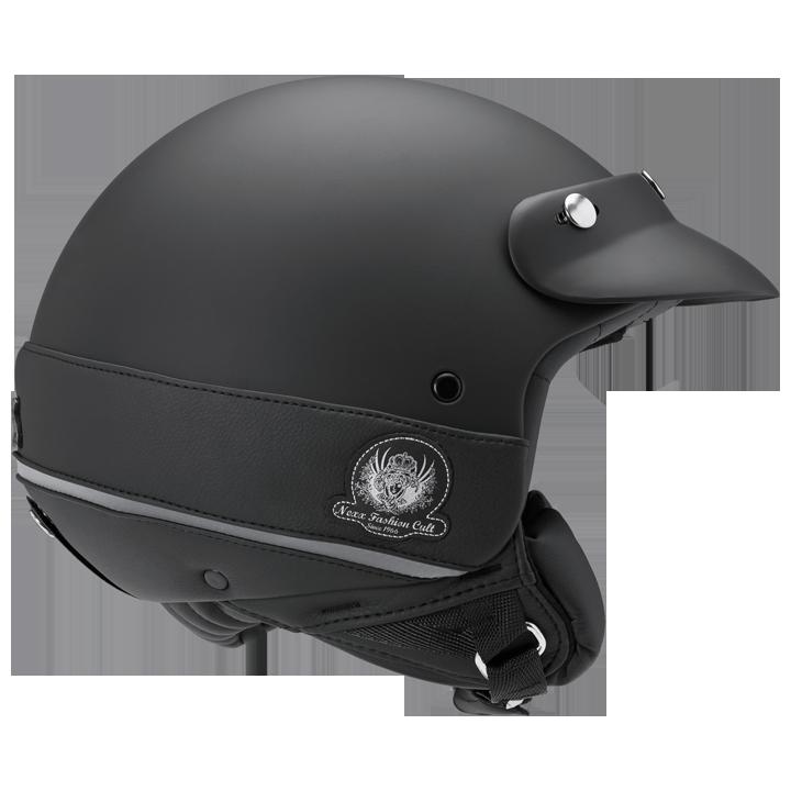 Шлем Nexx X60 Tribute р.XXL, черный матовый