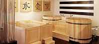 Будівництво Японської лазні офуро)