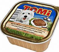 Консервы корм для собак TOMi РЫБА (fish)   паштет 150 г