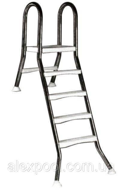 Лестница Kripsol  5+1 ступ.(для сборных бассейнов h=1,5m), ESP 5.D